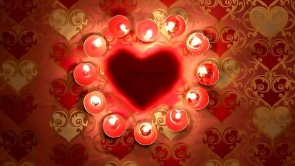 красивый фон на день святого валентина