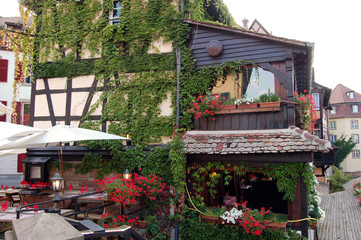 A small restaurant in Strasbourg - France