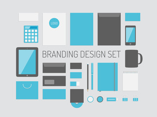 Branding identity vector collection