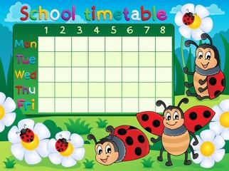 School timetable topic image 5