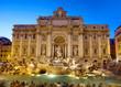 Trevibrunnen 1, Rom, Italien