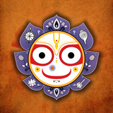 Balarama. Jagannath. Indian God. Lord Jagannatha.