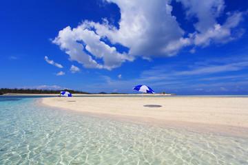 沖縄の美しい海と空