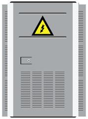 Door transformer station