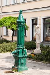 Heinrich Zille Statue in Berlin, Deutschland