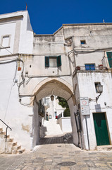 Porta di Giuso. Ceglie Messapica. Puglia. Italy.