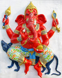 Ganesha ride a rat