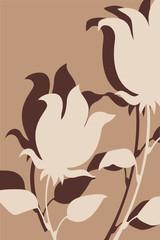 braune tulpen