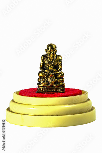 Buddha image used as amulet