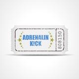 ticket v3 adrenalin kick I poster