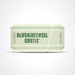ticket v3 reifenwechsel gratis I
