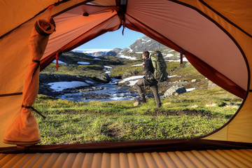 Trekking in Norway - Hardangervidda Nationalpark