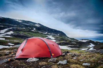Camp in Norway