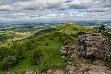 Castle Hohenzollern in Springtime
