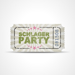 ticket v3 schlagerparty I