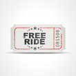 ticket v3 free ride I