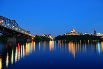 Ottawa at night