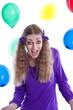 Die Künstlerin - Mädchen feiert seinen Geburtstag