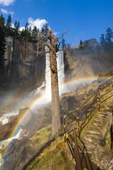 Mist Trail rainbows