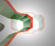 cornice 3D in movimento