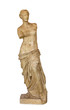 Постер, плакат: Venus de Milo statue isolated