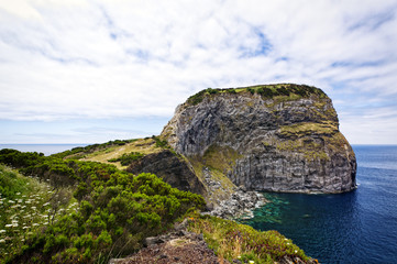 Castello Branco, Felsmassiv auf Faial, Azoren