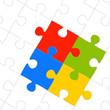 Teamwork Puzzleteile
