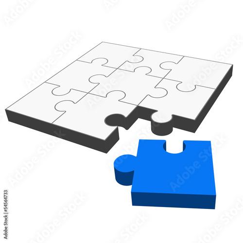 Puzzle 3D - passt !