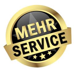 """Button mit Banner """" MEHR SERVICE """""""