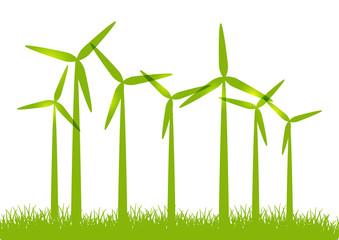 Eco windmills