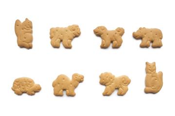 8種類のアニマルクッキー