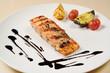 Fish grilled steak