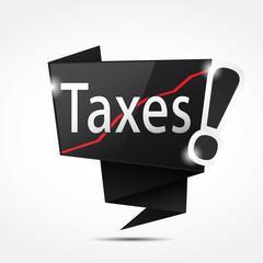 bulle origami : taxes