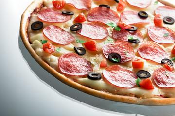 Pizza. macro