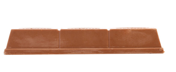 Wafer bar of chocolate.