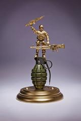 Marine Grenade Display
