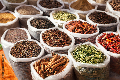 Fotobehang India Indian spices