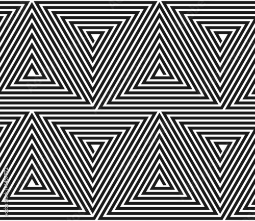 Vector triangular geometric pattern.