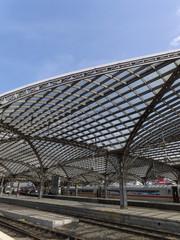 ケルン中央駅のプラットフォーム