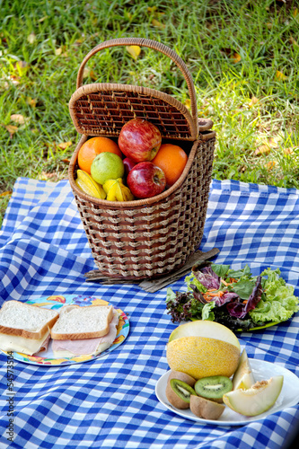 Picnic set outdoor