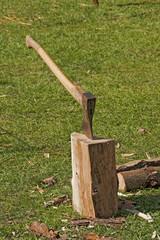 Platz zum Holzhacken