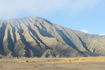 bromo volcano from indonesia