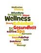 "Wortwolke ""Wellness"""