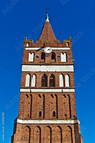 Church of St. George. City Pravdinsk (before Friedland), Russia