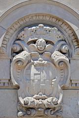 Escudo de la Ciudad de Barcelona.