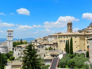 Veduta di Assisi - Perugia - Umbria - Italia