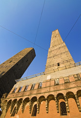 Asinelli Tower -Bologna, italy