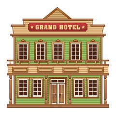 Wild West grand hotel