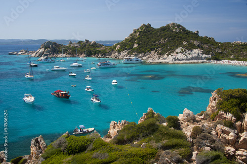 Cala Corsara, wonderful Seawater in Spargi
