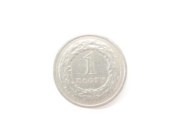 Polish currency coins